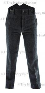 Edwardian mens trousers - grey