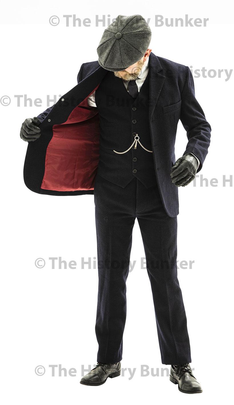 peaky blinders mens suit jacket